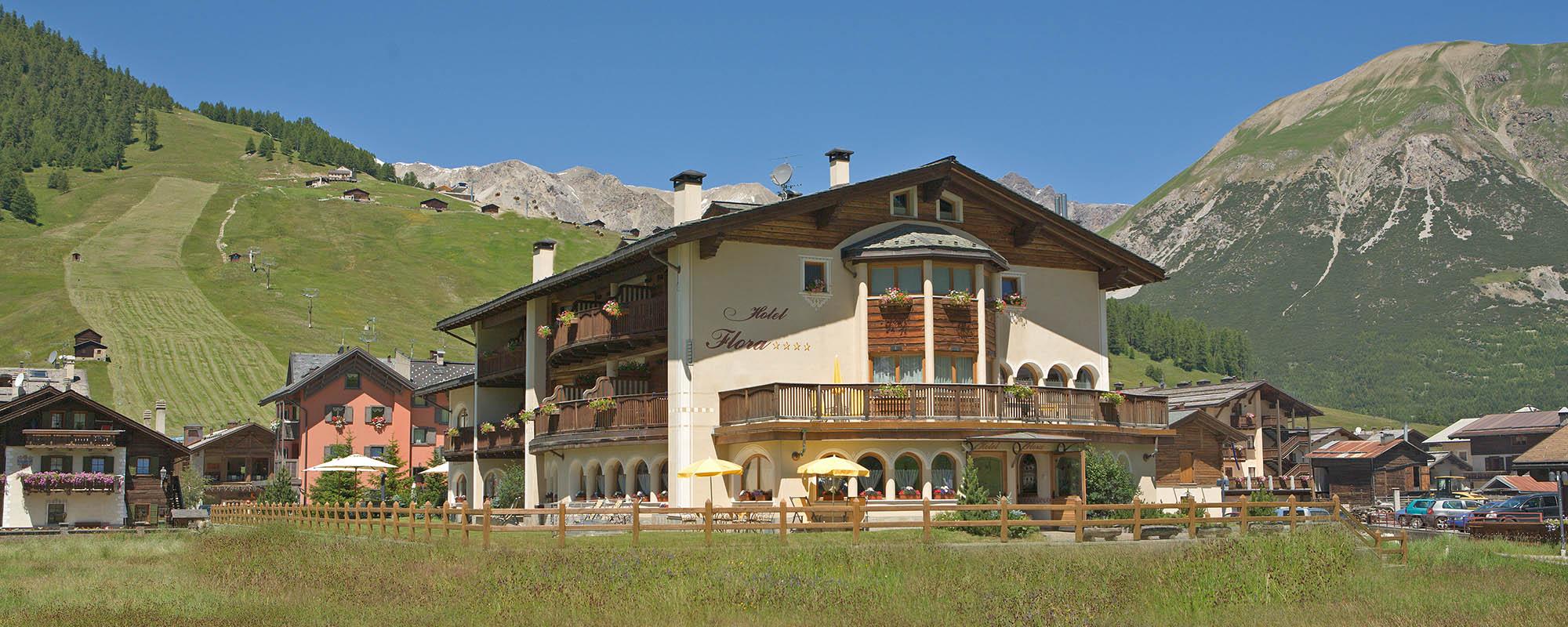 Hotel Flora - Hotel a 4 stelle nel centro di Livigno